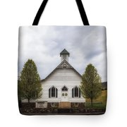 The Woodrow Union Church In Paw Paw West Virginia Tote Bag