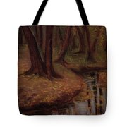 The Woods Are Deep And Dark Tote Bag
