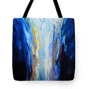 The Word Made Flesh, God Poured Out Tote Bag