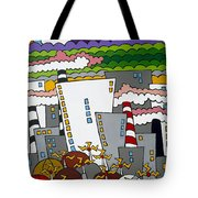 The Word Tote Bag by Rojax Art