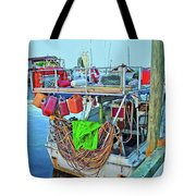 The Work Boat Tote Bag