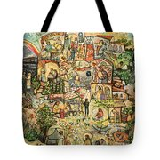 The Works Of Mercy Tote Bag