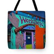 The Workshop-vertical Tote Bag