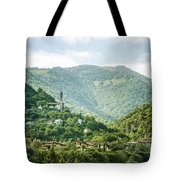 The World Above Tote Bag