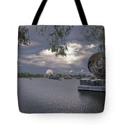 The World Goes Round Tote Bag