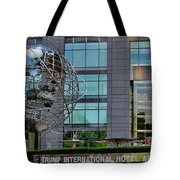 The World In New York Tote Bag