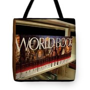 The World In The Library - Encyclopedias Tote Bag