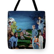 The World Of Classic Horror Tote Bag