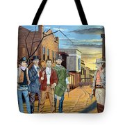 The World Of Classic Westerns Tote Bag