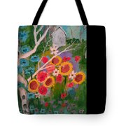 The World Of Flowers Tote Bag