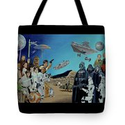 The World Of Star Wars Tote Bag
