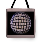 The World Weaved Together Tote Bag by Myrna Migala