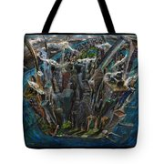 The Worlds Capital Tote Bag