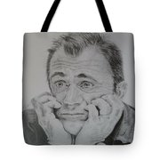 The Worried Mel Tote Bag