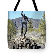 The Wounded Warrior Tote Bag
