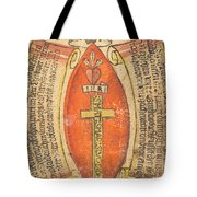 The Wounds Of Christ With The Symbols Of The Passion Tote Bag