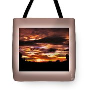 The Wow In A Sunset Tote Bag