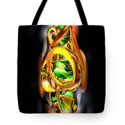 The Wraith Abstract Tote Bag