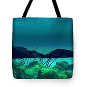 The Wreck Diving The Reef Series Tote Bag