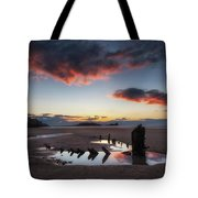 The Wreck Of The Helvetia And Worms Head Tote Bag