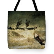 The Wreck Of The Iron Cloud, 1881 Tote Bag