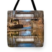 The Wrench House Tote Bag by Dennis Dame