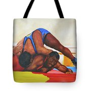 The Wrestlers Tote Bag