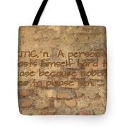 The Writing On The Wall Six Tote Bag