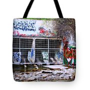 The Writing's On The Wall Tote Bag