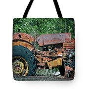 The Wrong Side Of The Tracks Tote Bag