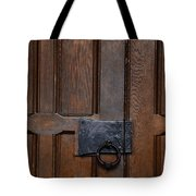 The Wrought Iron Handle Tote Bag