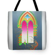 The Wurlitzer Window Tote Bag