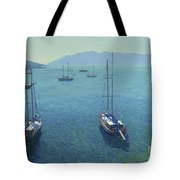 The Yachts Tote Bag