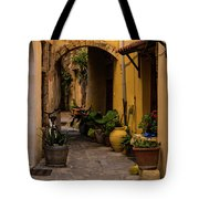 The Yellow Archway Tote Bag