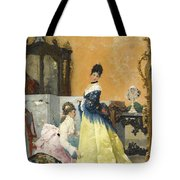 The Yellow Dress Tote Bag