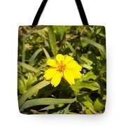 The Yellow Encamped Tote Bag