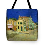 The Yellow House Tote Bag by Vincent Van Gogh