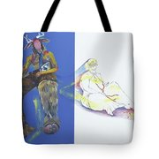 The Yellow King Tote Bag