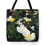 The Yellow Roses Of Fulton Street Tote Bag