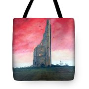 The Yellow Steeple Tote Bag