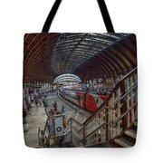 The York Train Station Tote Bag