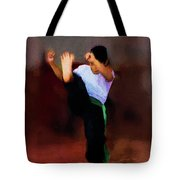 The Young Fighter Tote Bag