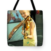 The Young Violinist  Tote Bag