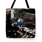 The Zebra In Colour Tote Bag