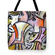 Theater Actors By Rafi Talby Tote Bag