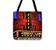 Theater District Close Up Tote Bag