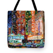 Theater Night Tote Bag