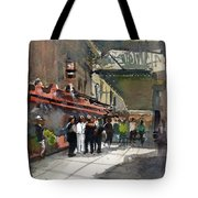 Theater Restaurants London  Tote Bag