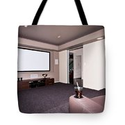 Theatre Room Tote Bag