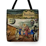 Theatrum Imaginarius -theatre Of The Imaginary Tote Bag by Cinema Photography